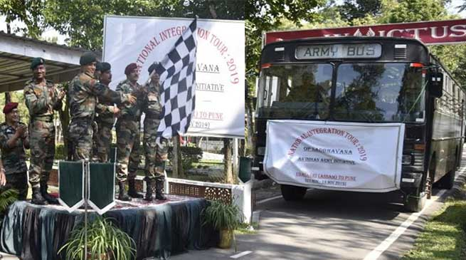 Assam: Army organised NI cum Sports tour for avid footballers