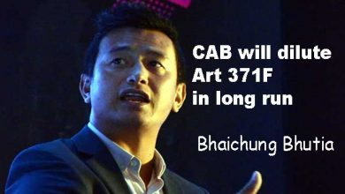 Photo of CAB will dilute Art 371F in long run: Bhaichung Bhutia