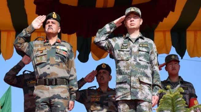 Meghalaya: Indo – China joint exercise Hand-in- Hand culminates