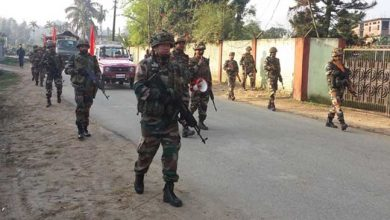 Photo of Assam: Troops of Assam Rifles restore normalcy in Tinsukia