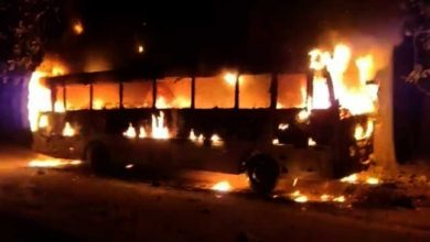 Photo of Assam: Miscreants torch BJP leader's bus in Morigaon