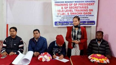 Photo of Assam: Field level training of GP presidents, secretaries held in Hailakandi