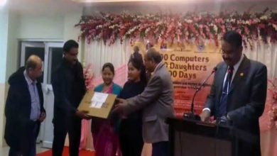 Photo of Assam: Daughters of Veer Naris presented with Laptop