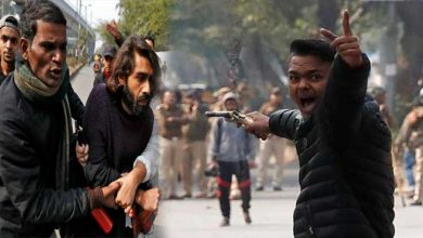 Photo of Man opens fires at CAA protesters near Jamia, 1 student injured