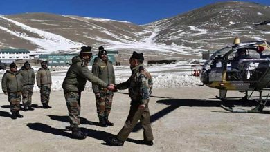 Photo of GOC-in-C  Estern Command Visits Trishakti Corps