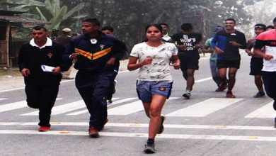Photo of Assam: Indian Army organised mini marathon at udalguri