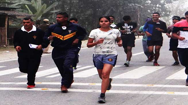Assam: Indian Army organised mini marathon at udalguri