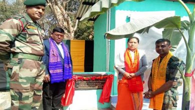 Photo of Assam: Army dedicates Toilet Blocks for Girls School in Chirang