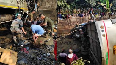 Photo of Assam Bus Accident: 6 Killed, 20 injured, Army rescues Passengers