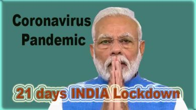 Photo of Coronavirus crisis: India to be under complete lockdown for 21 days- PM Modi