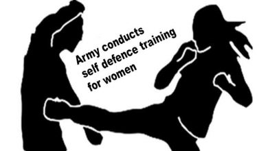 Photo of Assam: Army conducts self defence training for women