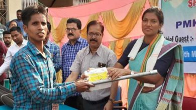 Photo of Assam: Sprinkler sets distributed to farmers under PMKSY in Hailakandi