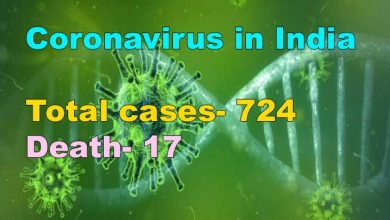 Photo of Coronavirus in India: 17 deaths, total cases 724