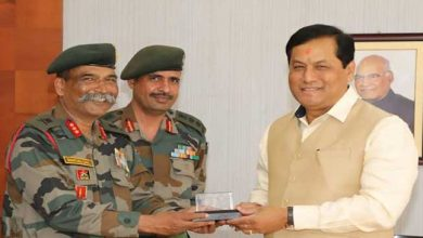 Photo of Assam: GOC GajrajCorps calls on Governor and and CM