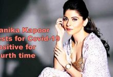 Photo of Coronavirus: Kanika Kapoor tests for Covid-19 positive for fourth time
