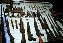 Photo of Assam: Huge cache of Arms, Ammunitions recovered from Kokrajhar