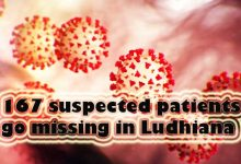 Photo of Coronavirus: 167 suspected patients go missing in Ludhiana