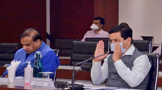 Assam: All-party meet offers gratitude to frontline personnel in battle against COVID-19