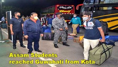 Photo of Coronavirus Lockdown: 391 Stranded students of Assam reached Guwahati from Kota