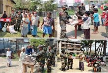 Photo of Assam: India Army provides Ration to needy people during lockdown