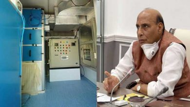 Photo of Rajnath Singh inaugurates DRDO developed mobile laboratory to test covid-19