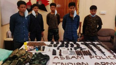 Photo of Assam police apprehended 5 ULFA Cadres in Charaideo