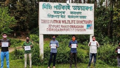Photo of Assam: AASU Protest against Coal Mining at Dehing-Patkai Reserve Forest