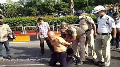 Photo of Vizag: Dr K Sudhakar Who Complained About Shortage Of PPE Kits Stripped, Beaten By Police