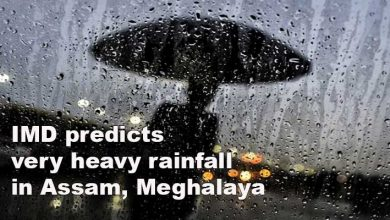 Photo of IMD predicts very heavy rainfall in Assam, Meghalaya
