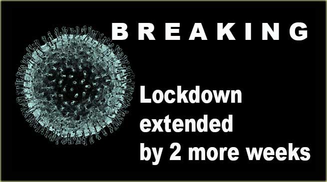 Covid-19: India lockdown extended by 2 more weeks