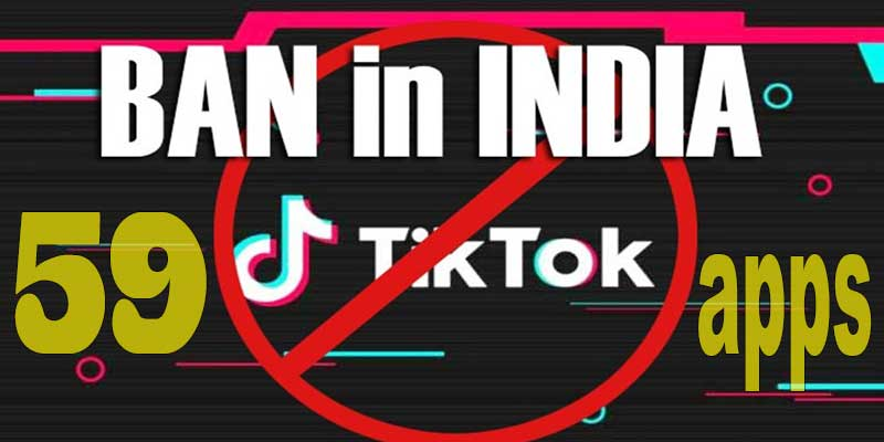 India: Govt Bans 59 Chinese apps including TikTok and UC Browser