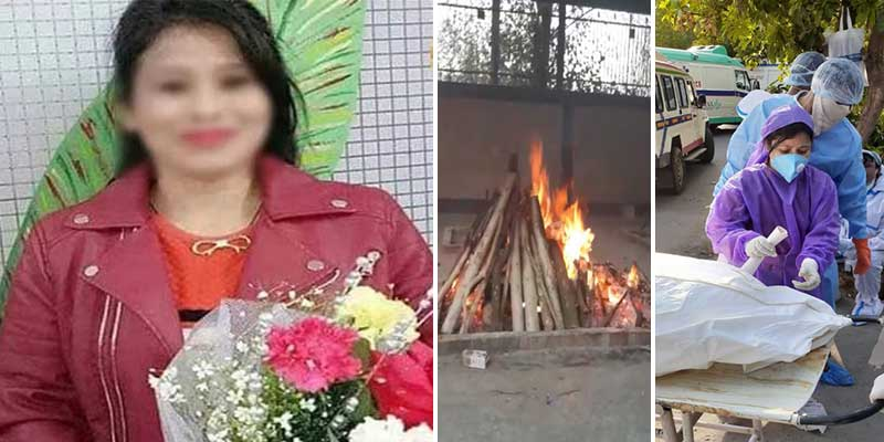 Delhi: Assamese girl dies due to COVID-19, cremated at Punjabi Bagh
