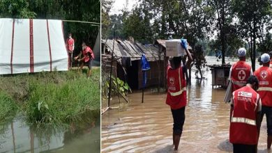 Photo of Assam Floods: Indian Red Cross teams are on the ground providing shelter and relief aid to the most vulnerable