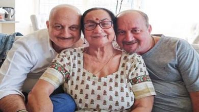 Photo of Coronavirus:  Anupam Kher's four family members test positive for COVID-19
