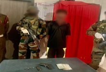 Photo of Assam: Army apprehends NSCN (IM) cadre in Tinsukia