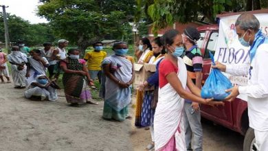 Photo of Assam Flood: SSSSO team reaches Barkola Village, distributed relief pakets to flood affected people