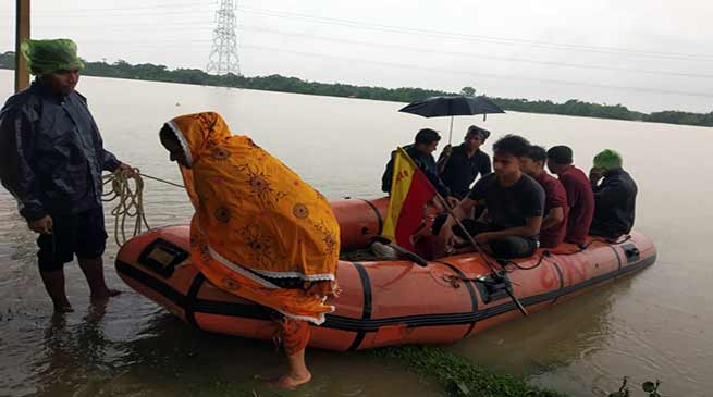 Assam: Flood situation remains grim in Hailakandi, One person killed due to drowning