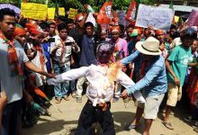 Photo of Mizoram: BJP protest against irregularities by CADC CEM
