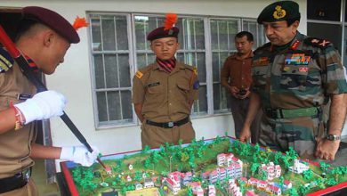 Photo of Nagaland: GOC Spear Corps Visits Sainik School, Punglwa