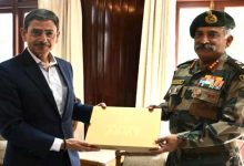 Photo of Nagaland: GOC Spear Corps calls on the Governor