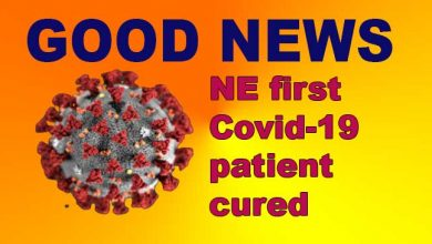 Photo of Manipur: Northeast first Covid-19 patient cured, returns home