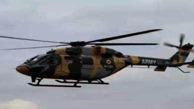 Photo of Indian Army's Dhruv Helicopter makes emergency landing in Ladakh