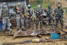 Photo of Manipur: Assam Rifles Bust Illegal Arms Workshop in Ukhrul