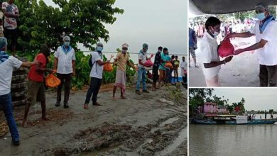 Photo of Assam: SSSSO distributed relief materials at Flood Relief Camp in Jengpari Village of Morigaon