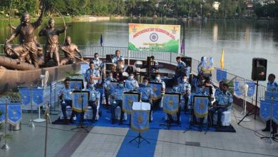 Photo of Assam: Air Force Band concert  in Guwahati to honour and salute Covid Warriors